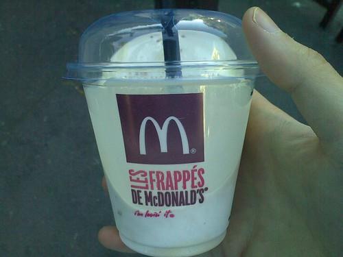 Fabuleux Les Frappés de McDonald's - FASTANDFOOD FW35