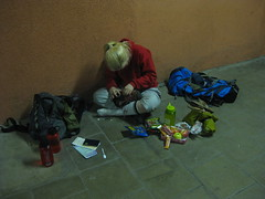 Cuscus preparing for the hike (i_am_thor) Tags: alps germany zugspitze