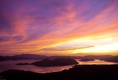 Sunset View From Mount Tapyas (julesnene) Tags: travel sunset panorama mountain seascape canon philippines aerialview panoramic burningsky coron luzon sunsetview colorfulsky busuanga 50d mttapyas mounttapyas canoneos50d northernpalawan calamianes palawam busuangaisland julesnene juliasumangil calamianesgroupofislands 723steps ontopofmounttapyas northerntipofpalawan