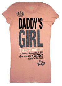 Daddy's Girl Juicy Couture kids clothing  (MiniHipster.com - Kids Street Fashion, Childrens Clothing Trends, Kidswear Lookbook)