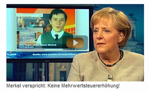 Rob Vegas Angela Merkel