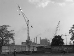 industrial revolution (jayant_vnit) Tags: white black industry steel tata cranes jamshedpur tisco jayant