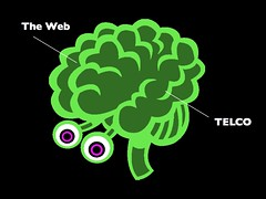The Web (v) TELCO