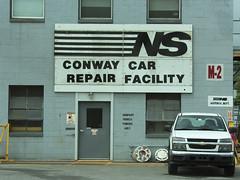 Norfolk Southern Railroad Conway, PA 3 (NFS/WLE) Tags: dad conway trains pa norfolksouthernrailroad