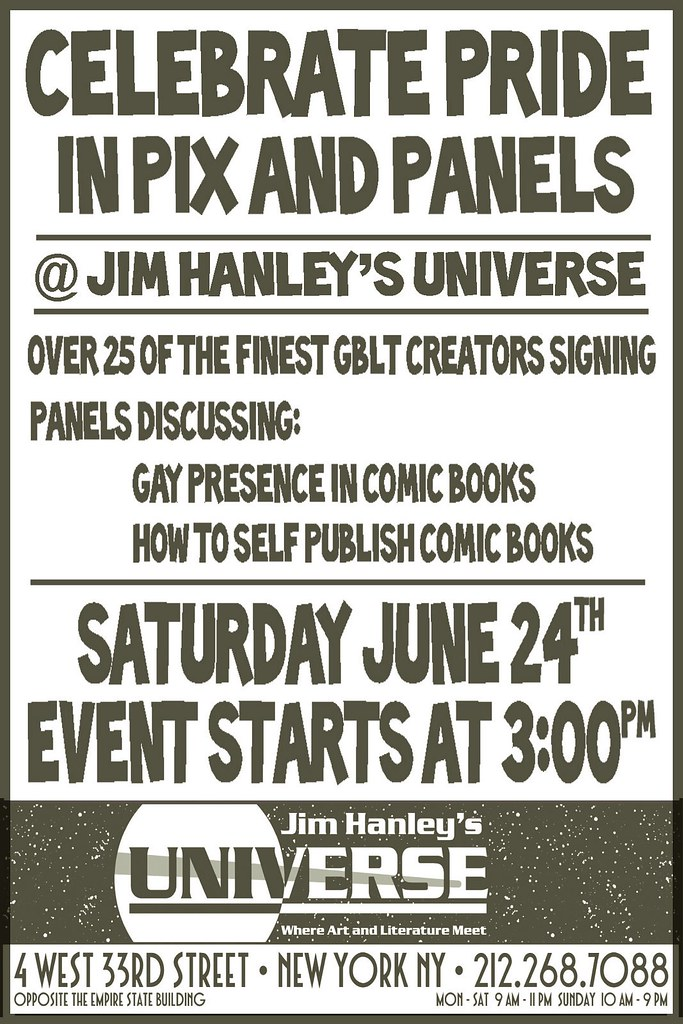 Gay Comics @ NY Pride