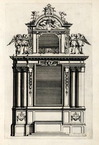 011-Livre d'architecture d'autels, et de cheminees- Barbet Jean-1633- © Institut national d'histoire de l'art