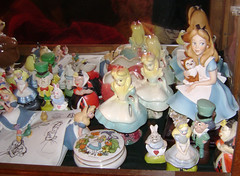 TEAKSHELF2 (Alice's Palace) Tags: alice disney wonderland collectibles