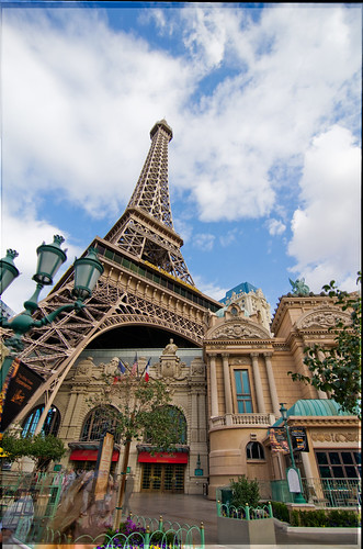 The Eiffel Tower in Las Vegas (DRI)