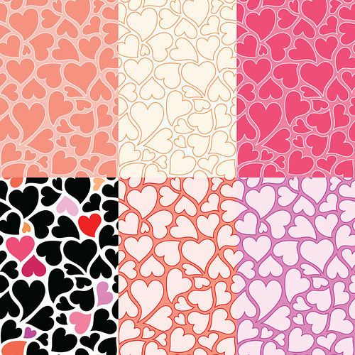 backgrounds for twitter free. Free hearts patterns, twitter