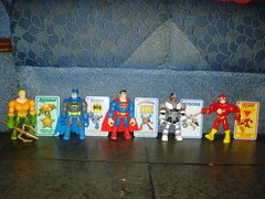 Diana´s DC Superfriends (Fabricio Marvel) Tags: friends dc flash super superman batman cyborg mattel superfriends aquaman