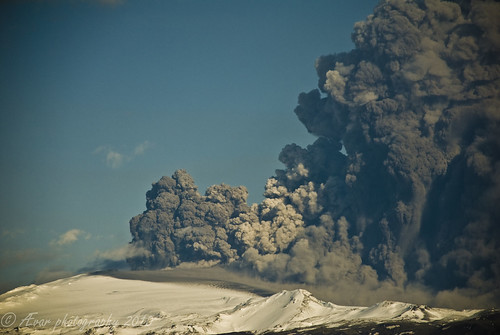 the vake up of eyjafjallajökull volcano