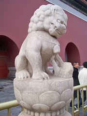 The Forbidden City (Stacy Sherman) Tags: china temple beijing palace stonelion theforbiddencity  foolion fulion lionofbuddha chineseguardianlions