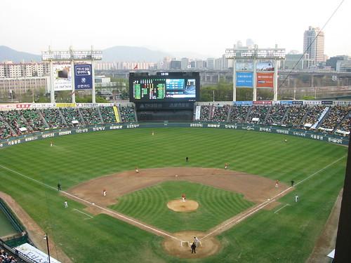 Jamsil Stadium LG Twins Doosan Bears