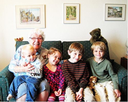 Oma and kids 2010