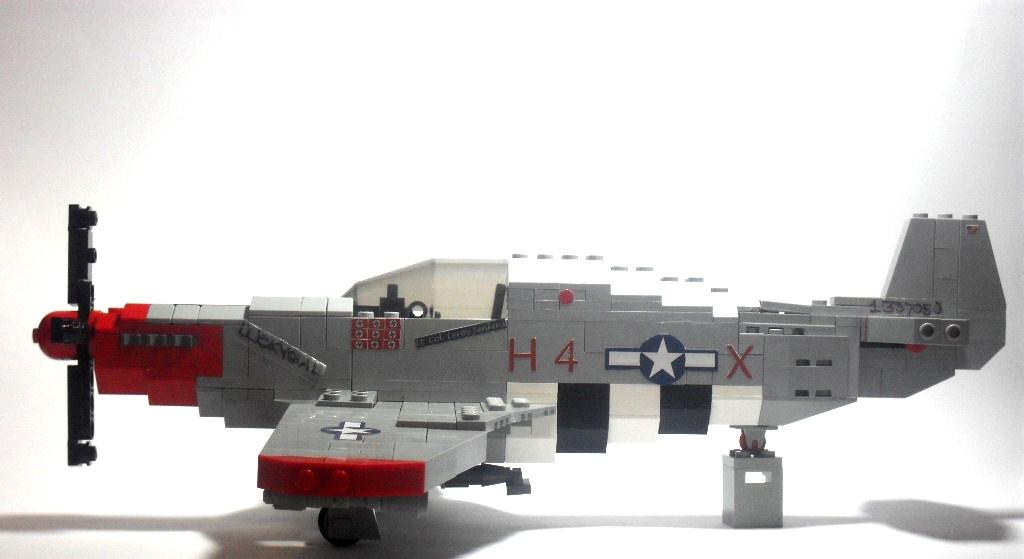 P-51-B-5 Mustang Profile