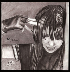 Without emotional (iSkills  ) Tags: art colors pencil painting sketch drawing skills charcoal draw carbon maher     cretacolor            iskills alzaidy