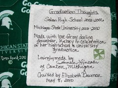 Graduation label 2010