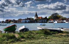 Bosham harbour (Medicinemansam) Tags: sky church water boats sussex bosham sailing westsussex harbour sony sail chichester a230 medicinemansam