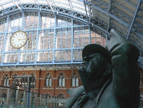 Sir John & Clock