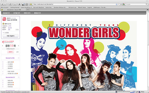 Wonder Girls Daum