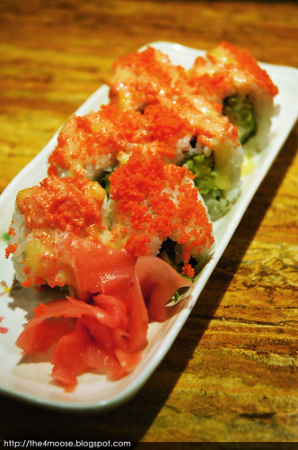 Standing Sushi Bar - California Roll