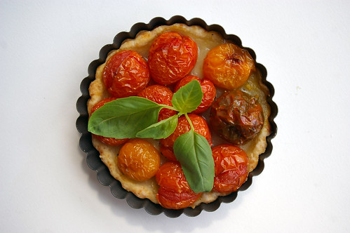 Roasted Tomato Tart-round