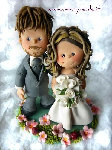 Il Cake Topper per iI matrimonio di Matteo