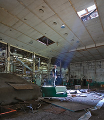 Take Me To Your Leader (jgurbisz) Tags: light selfportrait abandoned me newjersey alien nj rays papermill i