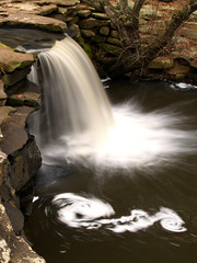 A swirl at Petit Jean