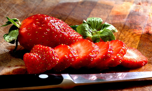 Strawberries, by ShinsanBC on Flickr