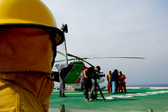 (Riham Fahed) Tags: video shoot safety helicopter resolution fahed riham rasgas kurby kurns photographyhelicopterkurbyrasgasresolutionshootvideo