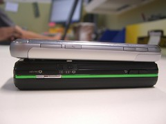 Thickness - LG KM900 vs Sony Ericsson K850i