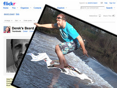 Day 045 Surfing My Photostream (dereksbeard) Tags: blue beard flickr surfer riverwear photostream fiddlerontheroof 365days durhammusicaltheatrecompany 365dec08
