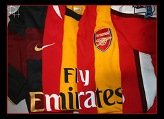 Arsenal [EXPLORED!!!] (ART DODA ) Tags: london shirt fly nike emirates 2008 arsenal 2009 2007 trikot 20072008 20082009