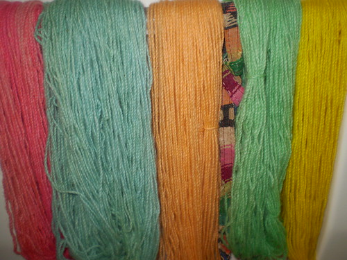 Hand Dyed Yarns