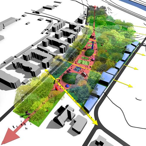 Wystawa koncepcji zagospodarowania terenu zielonego przy osiedlu Lipska