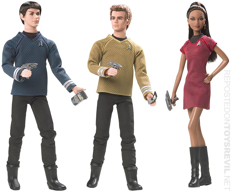Star Trek Barbie Collector Dolls Drop April 20