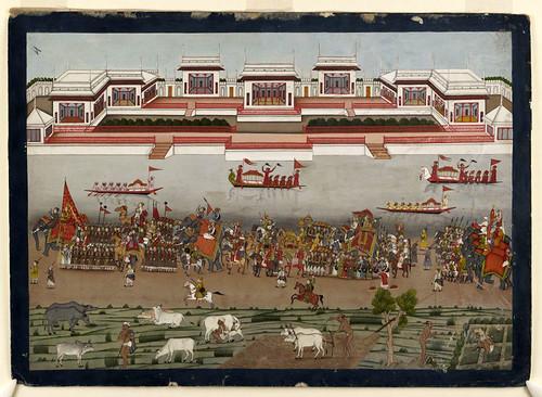 001- Pintura india siglos XVIII-XIX