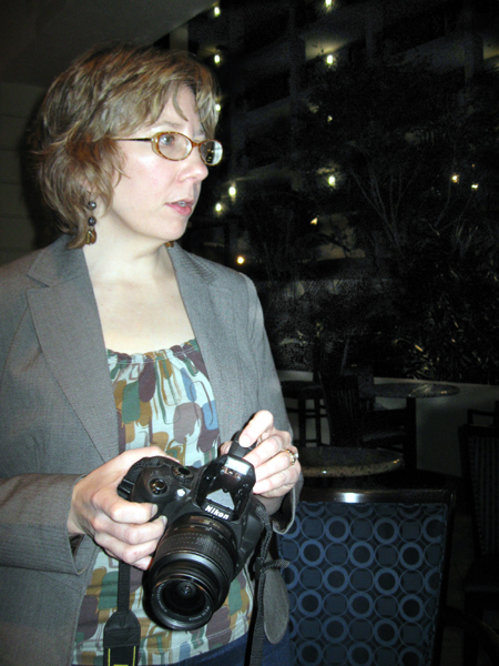 Alyce with The Pirate's Camera (Click to enlarge)
