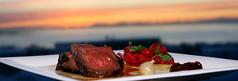 Naut me raurfum og reyktu dlumauki (bjarnigk) Tags: iceland beef chefs grillrestaurant reykjarvk thrainn