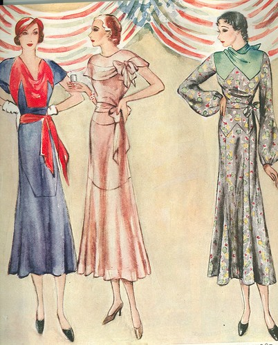 1930s fashion trends 1930s fashion