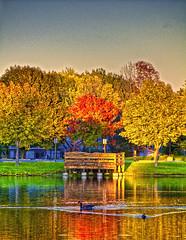 No Wake (DanMacMan) Tags: autumn aperture nikon michigan d40 18200vr colorefexpro photoshopcs4
