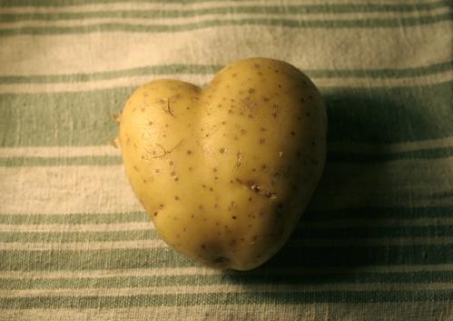 Hearty spud - Patate en coeur