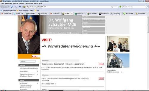 Website gehackt