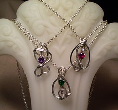 MyGemStoneBox by Diane's Sculpted Birthstone Pendants