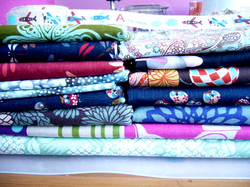 today's fabric buying binge.