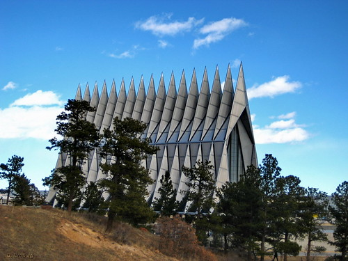 AFA Cadet Chapel from trail