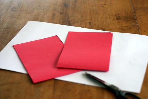 Woven Paper Valentine Hearts - 3