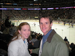 Clare & Dennis at Avalanche Game