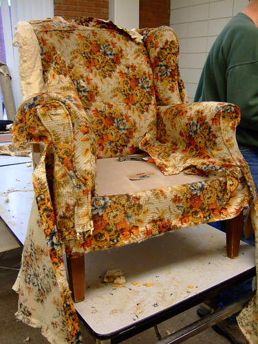 Reupholstery Class (by ann-dabney)